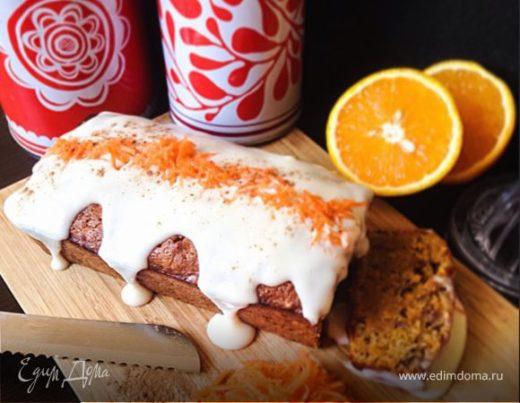 Фирменный морковный кекс