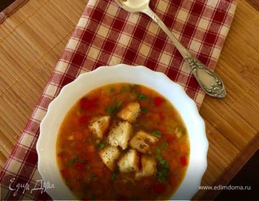 Гороховый суп (постный)