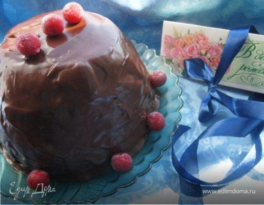 Торт «Шоколадно-вишневый купол»