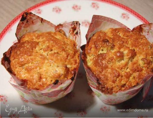 Сливочные булочки с ревенем