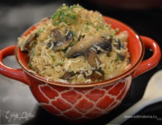 Грибочки с рисом
