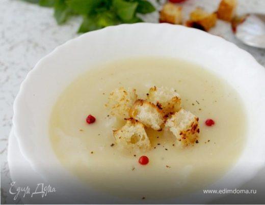Кабачковый суп с белым вином