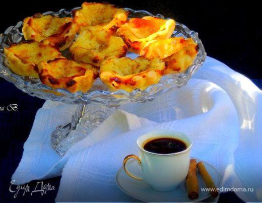 Пирожное «Паштел де ната» (Pastel de nata)