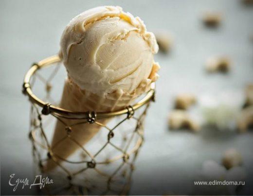 Домашнее ореховое мороженое с кешью