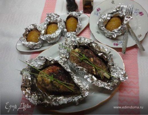 Индейка в лимонно-перечном маринаде