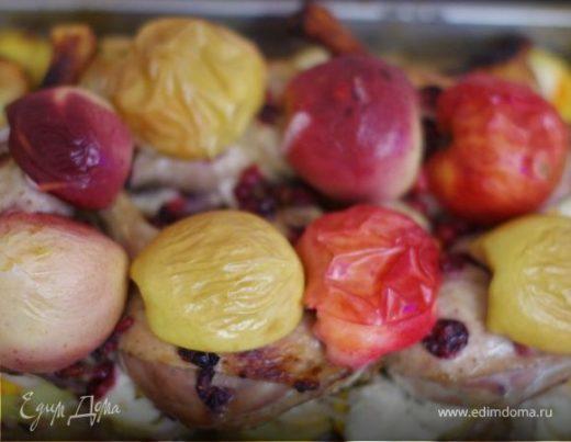 Утиные ножки в медово-клюквенном соусе «Осеннее чудо»