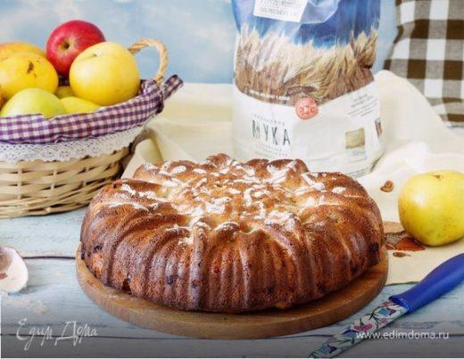 Бретонский яблочный пирог на сидре