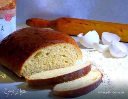 Простой яичный хлеб