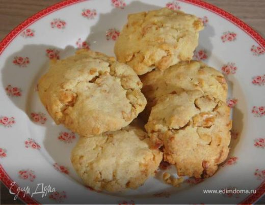 Песочное печенье на грецких орехах
