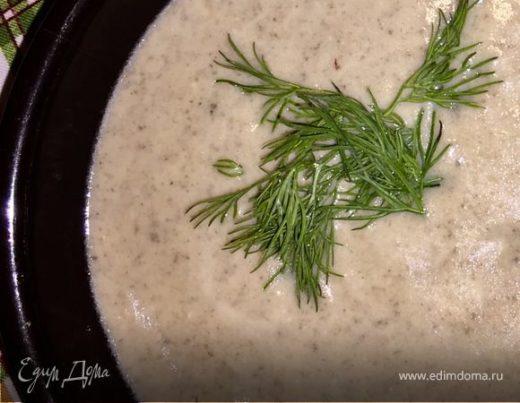 Душевный грибной суп-пюре